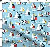 Segeln, Boote, Eingeschränkte Palette, Segelboote, Meer,