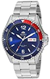 Orient Men's Mako II Japanese Automatic Sport Watch with Stainless Steel Strap, Silver, 20 (Model: FAA02009D)