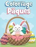 coloriage pâques: livre de coloriage enfant 3-9 ans