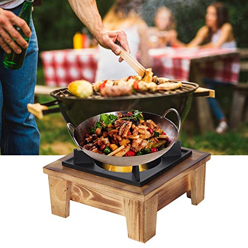 Eulbevoli Horno de Barbacoa, Compatible con Varios combustibles Horno de diseño portátil práctico para Hacer una Variedad de Platos deliciosos