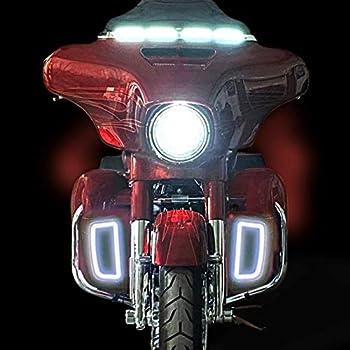 CUSTOM DYNAMICS Dynamic Lower Fairing Inserts for Harley-Davidson Motorcycles NEW!