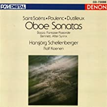 Saint-Saens / Poulenc / Dutilleux: Oboe Sonatas
