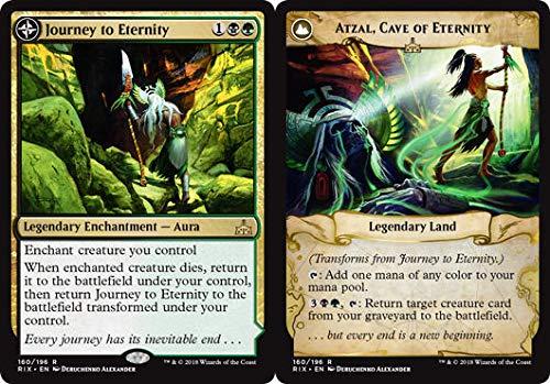 Journey to Eternity // Atzal, Cave of Eternity - Rivals of Ixalan