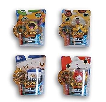 Yo-Kai Watch Medal Moments - Multi Set - Noko Komajiro Jibanyan and Noway