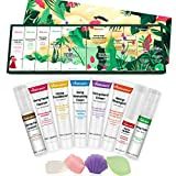 Vitablossom Hemp Beauty Gift Set-12PCS W/Eye Cream, Facial Cleanser, Toner, Moisturizing Cream, Facial Soap, Lip Balm, Hand Cream, Shampoo, Conditioner, Best Gifts for Women, Gift for Her