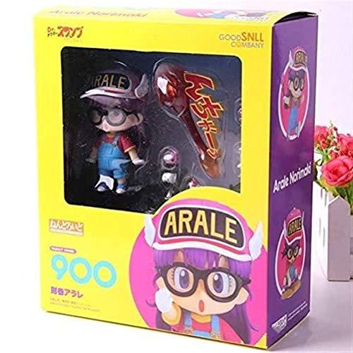 Anime Figura de acción muñeco Arale Norimaki Anime Figura de acción Nendoroide Coleccionable Modelo Carácter Estatua Toys Figuras de PVC Adornos de escritorio