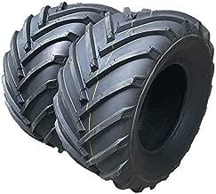 MILLION PARTS 2PCS 20x10.00-8 Garden Lawn Mower Tire 1190Lbs 4PR P328