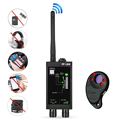 RF Signal Detector GPS Tracker Finder Camera Scanner Detectors Anti Spy Bug Betector Lens CDMA GSM Device Finder Monitor