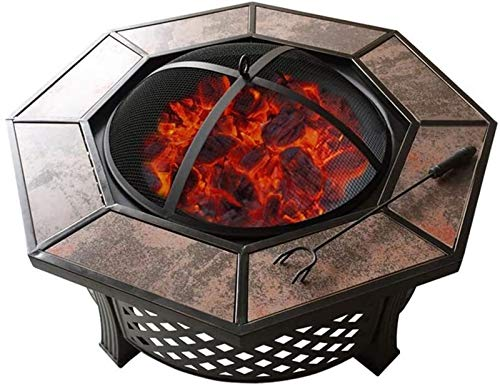 Stylish Outdoor Brazier One Outdoor Table Coffee Table Barbecue Courtyard Ceramic Barbecue Table