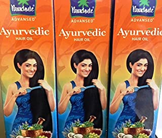 Parachute Advansed Ayurvedic Hair Oil -190 Ml (Pack of 3)