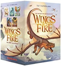 Wings of Fire Set-Books #1-5 [#1: The Dragonet Prophecy, #2: The Lost Heir, #3: The Hidden Kingdom, #4: The Dark Secret, #5: The Brightest Night]