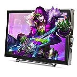 Schermo Portatile 11.6 '' 16: 9 IPS a Schermo Intero 1920x1080 Monitor HDMI con Ingresso HD grandangolare a 170 Gradi per PS3 / 4 per Xbox per Raspberry Pi, Doppi Altoparlanti integrati(UE)