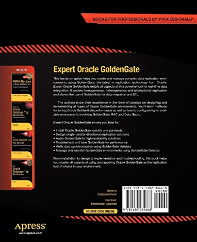 Expert Oracle GoldenGate (Expert's Voice in Oracle)