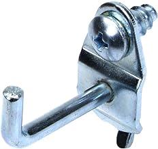 Triton Products 71119 DuraHook steekbordhaak van verzinkt staal, 1-1/8 inch, 90 graden gebogen met 3/16 inch diameter, voo...