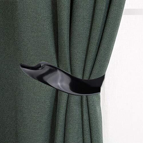 Porta tendaggi per finestra, Porta tendaggi per tende decorativo, set di 2, lega di alluminio.