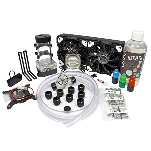 Liquid Cool  Vortex One Advanced DIY Kit de refroidissement à eau 240 mm