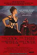 The Cook Thief, His Wife and Her Lover POSTER Movie (27 x 40 Inches - 69cm x 102cm) (1990)
