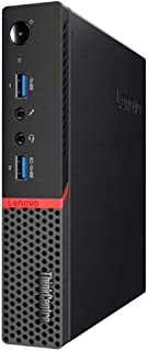 Lenovo ThinkCentre M900 Tiny Desktop i5-6500T 2.5GHz 8GB RAM 480GB SSD Type 10FL (Renewed)