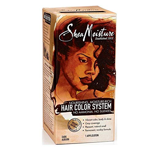 Shea Moisture Hair Color System, Dark Auburn