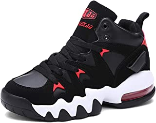 Femaroly Male Classic Basketball Shoes for Men Air Cushion Warm and Breathable Sport Shoes Sneaker