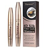 4D Silk Fiber Eyelash Mascara, Mascara Waterproof, 4d Silk Fiber Mascara, Mascara Ciglia Extra Volume, 4D Mascara, 4D Fiber Black Lash Mascara, più lunga, più spessa