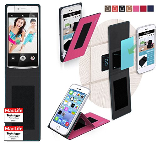 reboon Hülle für Oppo N3 Tasche Cover Case Bumper | Pink | Testsieger