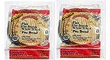 Josephs Flax Oat Bran and Whole Wheat Pita Bread, 8 oz. (Pack of 2)