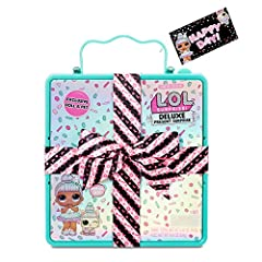 Unbox the perfect gift including a limited edition Sprinkles doll and her pet, Sprin-claws Each package comes already wrapped in a fabulous gift package with a bow and tag. Fizzy surprise unboxing experience reveals doll and pet. Unbox fashions and a...