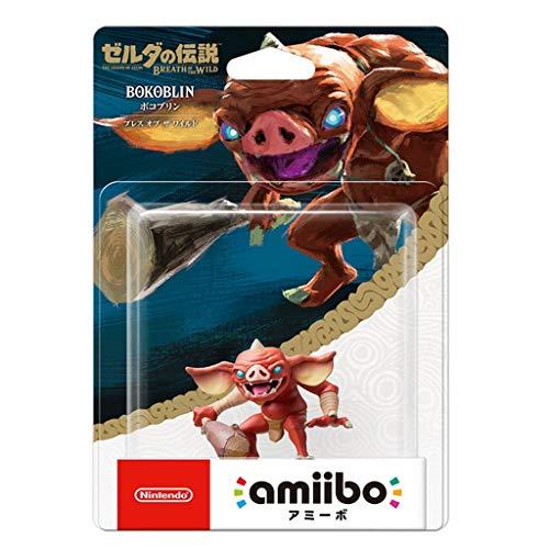 CQ Leyenda de Zelda Amiibo: Bokoblin Figurita!Leyenda de Zelda Figura de acción del Juego Obra Maestra Figura Coleccionable de la respiración del Salvaje Japón Importación (Wii U / 3DS / Switch) Toys
