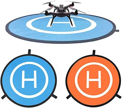 CaLeQi Drone Landung Pad Universal wasserdichte Tragbare Faltbare Landung Pads 55cm/21,65 ''für RC Drohnen Hubschrauber-rc, PVB Drohnen, DJI Mavic Pro Phantom 2/3/4 Pro, Antel Robotic, 3DR Solo