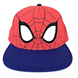 Spider-Man Mask Face Eyes Baseball Cap Hat Adults Red Blue
