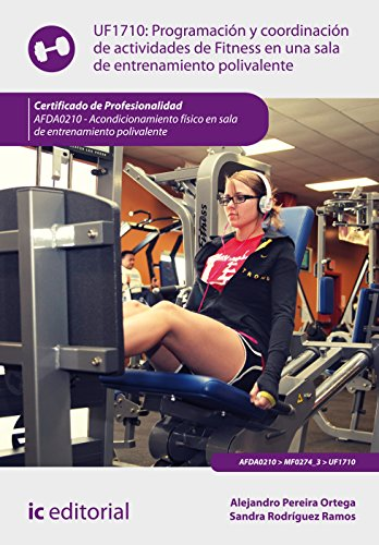 Programación y coordinación de actividades de fitness en una sala de entrenamiento polivalente. AFDA0210 - Acondicionamiento físico en sala de entrenamiento polivalente