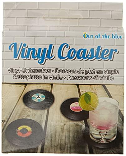 4 sottobicchieri vinile Forma - Vinyl coaster