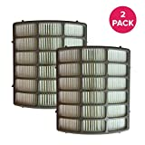 Crucial Vacuum Replacement Vacuum Filter - Compatible with Shark Part # XHF80, NV-80 - Fits Shark Navigator Vacuum Models NV70, NV71, NV80, NV90, NV95, NVC80C, UV420 – Bulk (2 Pack)