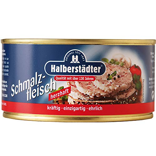Halberstädter Schmalzfleisch - nostalgische DDR Kultprodukte - Ossi Produkte