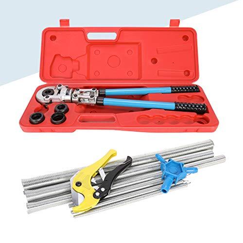 Sfeomi Rohrpresszange Presszange TH Kontur Pressbacken 16 bis 32 mm Rohr Crimper Crimpzangen Presszangen für Alu PEX Rohr Verbundroh
