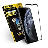 [GAURUN ガウラン] iPhone 11 Pro/XS/X 用 ガラスフィルム (1枚入り) [iPhone11Pro用ガイドツール付] 日本製旭硝子採用 硬度9H フルカバー 傷防止 指紋防止 耐衝撃 強化ガラス 液晶保護フィルム シート 4D プライムネット