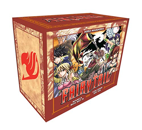Compare Textbook Prices for FAIRY TAIL Manga Box Set 3  ISBN 9781646510290 by Mashima, Hiro