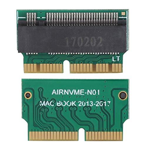 PUSOKEI NVMe Internal Gaming SSD Unidad de Estado sólido, Disco Duro a NVME SSD Adaptador Tarjeta de Concierto para 2013 2014 2015 Mac Book