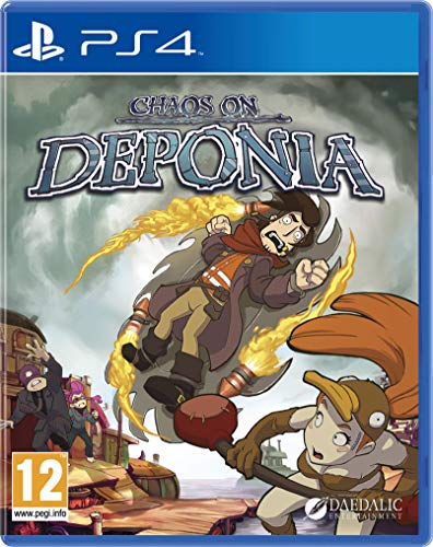 Chaos on Deponia (PS4 International)