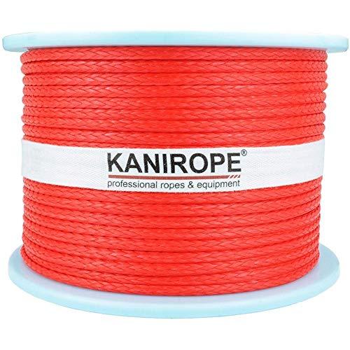 Kanirope/® Baumwollseil COBRAID 8mm 50m geflochten Farbe Natur Beige