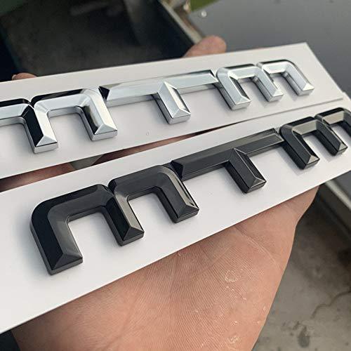 Dmwfaker Für Audi A1 A2 A3 A4 A4L S3, für Golf Polo CC, MTM Refit ABS Auto Styling Aufkleber Auto Badge Emblem Aufkleber Autoaufkleber