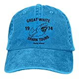 Gran tiburón blanco Tours hombres mujeres camionero sombrero vintage ajustable béisbol gorras...