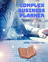 Complex Business Planner with Business Goals, Advertising Tracker, Cost Profit, Monthly Sales, Profit Report and More!
