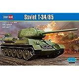 ホビーボス 1/16 ファイティングビークル ソビエト T-34/85 戦車 プラモデル 82602