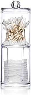Ritioner Organizzatore di Trucco,Custodia a Doppio Strato Dispenserper Cosmetici in Cotone Organizer Make Up (Acrilico),6....