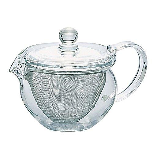Hario Cha Kyusu Maru Tea Pot, 300ml, glass