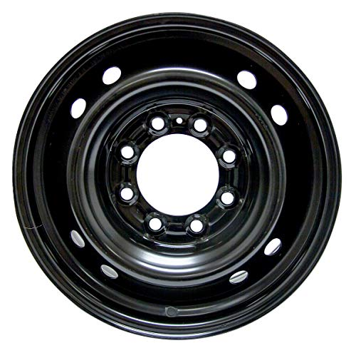 RTX, Steel Rim, New Aftermarket Wheel, 17X7, 8X165.1, 121.1, 25, black finish A2185