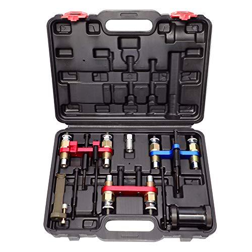 MR CARTOOL Fuel Injector Removal Installation Tool Kit Compatible with BMW N20 N43 N47 N53 N54 N55 N57 N63 S63 and BENZ M271 M270 M274 276, Engine Fuel Injectors Puller Remover Installer Tool Set