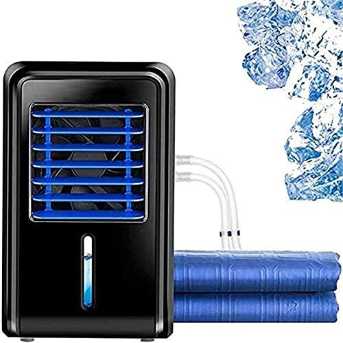 Aire Acondicionado Estera de Agua Eléctrica Refrigerador de Colchón Rápido de Hielo en Casa Sistema de Acondicionamiento de la Cama de Enfriamiento con Control Remoto